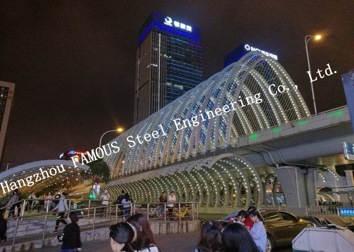 Prefabricated Shopping Mall Center With High Storey Office Steel Buildings Contractor In China