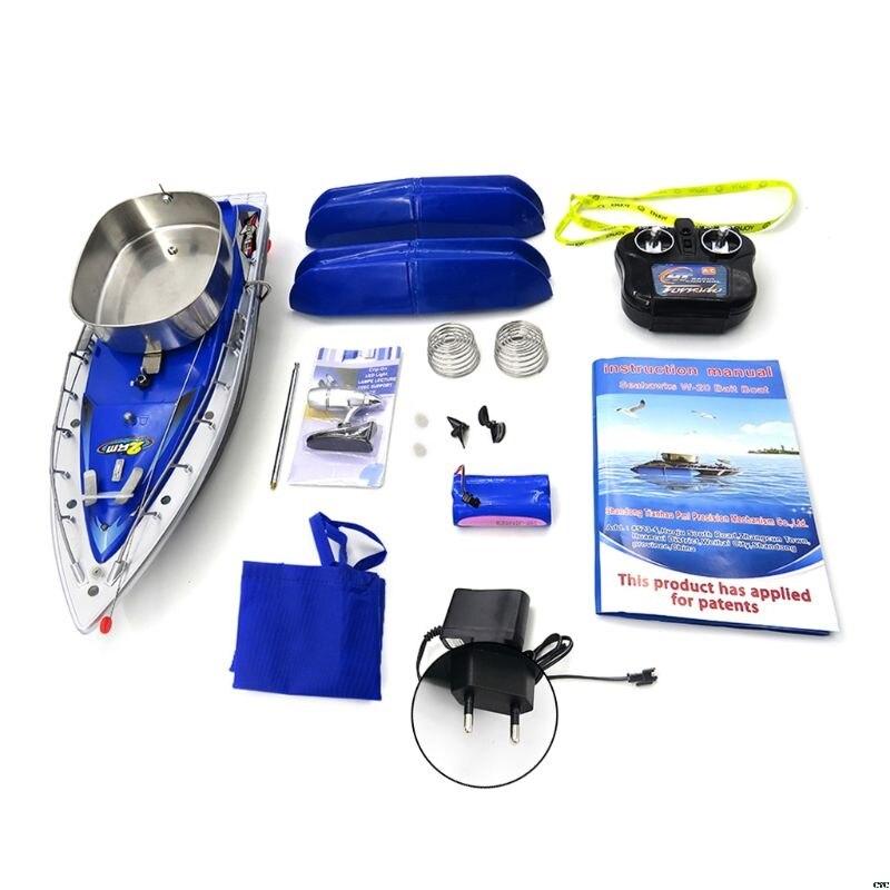 Oyuncaklar ve Hobi Ürünleri'ten RC Tekneler'de Flytec 2011 3 RC Tekne Akıllı Kablosuz Elektrikli Balıkçılık Bait Uzaktan Kumanda Balık Gemi Işıldak Oyuncaklar'da  Grup 1