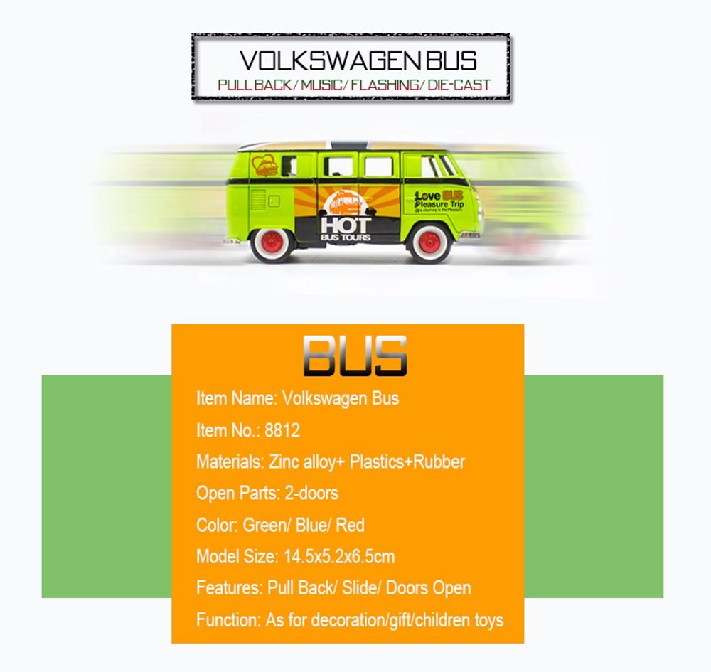 Volkswagen-Bus-Diecasts 9