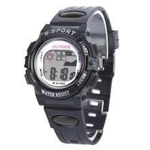 2016 Children Watches Kids Style LED Digital Cartoon Digital Quartz Watch Jelly Silicone Army Sports Wristwatches FreeShipping