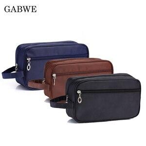 GABWE Waterproof Men Cosmetic Bag Hangin