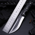 Уличный нож высокой твердости  прямой нож для самозащиты  для выживания в дикой природе  кемпинга  фиксированные тактические армейские ножи...