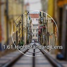 Neue 1,61 Einzigen Vision Linsen Für Männer und Frauen Klar Optische Einzigen Vision Objektiv HMC, EMI Asphärische Anti UV