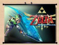 The Legend of Zelda Skyward Sword sky link Wall Scroll Home Decor Poster anime