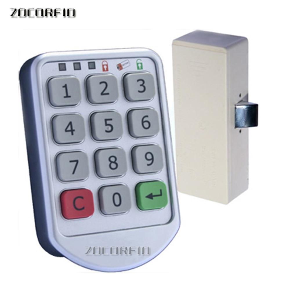 Freies verschiffen DIY Elektronische passwort tastatur schließfach digitale schrank schloss für büro hotel home schwimmen pool