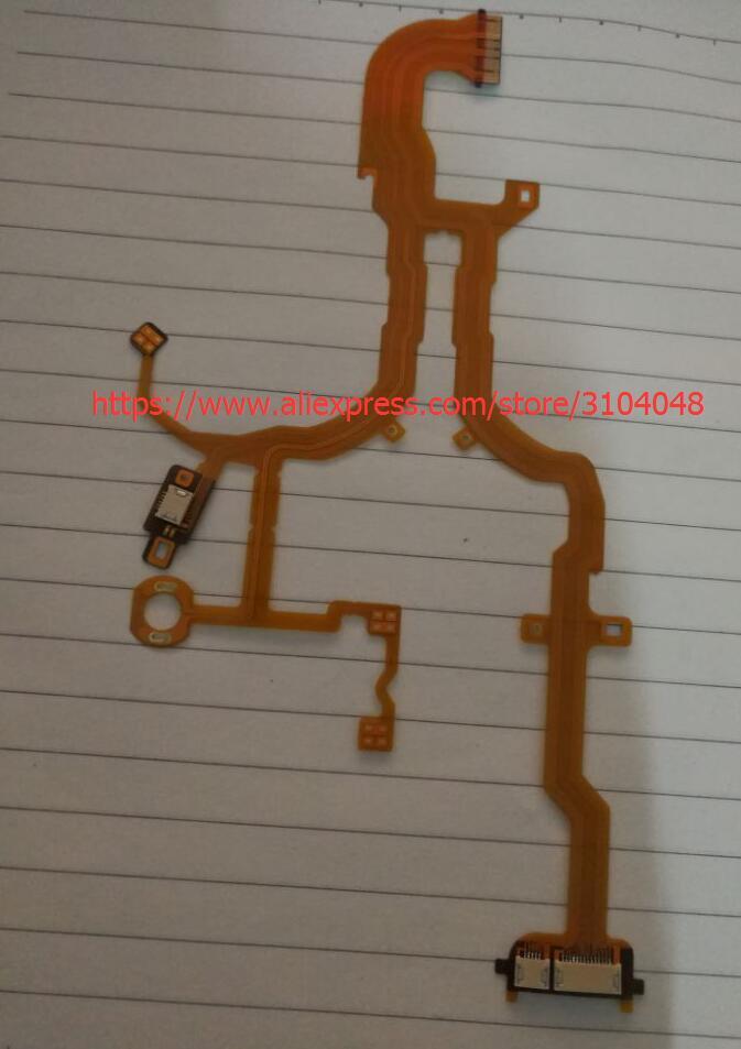 Nuevo lente volver cable Flex principal para Sony DSC-RX100 DSC-RX100 II RX100 M2 cámara digital reparación con socket
