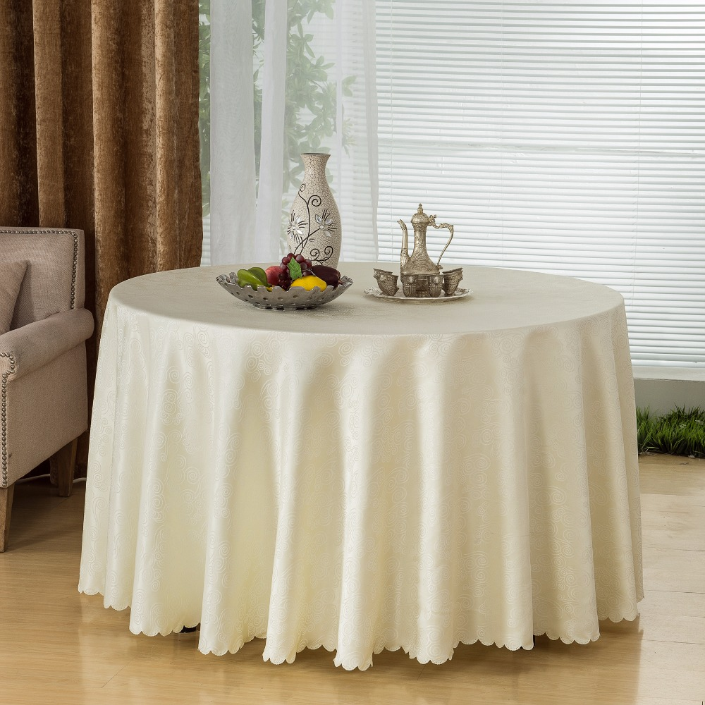 Table Cloths Modern Embroidered Organza Tablecloths
