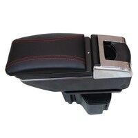 For KIA Rio K2 2011 2012 2013 2014 2015 2016 Car Armrest Center Console Storage Box