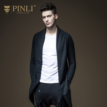 2017 New Sale Men Sweater Pinli Products Made In The Men's Cultivate Morality Long Knit Cardigan Sweater Male B173210074 Coat