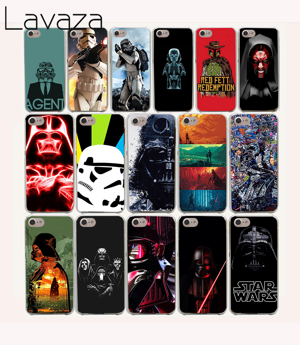 Lavaza 57O Star Wars All Characters Funny Hard coque Cases for iPhone 4 4s fundas cover 7 7 Plus