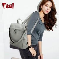 Women Bag Leather Backpack School For Girls Laptop Backpack For Teenage Girls Bolsas Feminina Luxury Brand