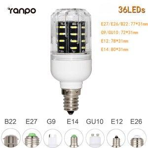 Image 3 - E26 E27 E12 E14 G9 GU10 LED Corn Bulb 4014 SMD 10W 20W 25W 30W chiếu Sáng 36 Đèn LED 72 Đèn LED 96 Đèn LED 138 Đèn LED Ampoule Đèn Trợ Sáng