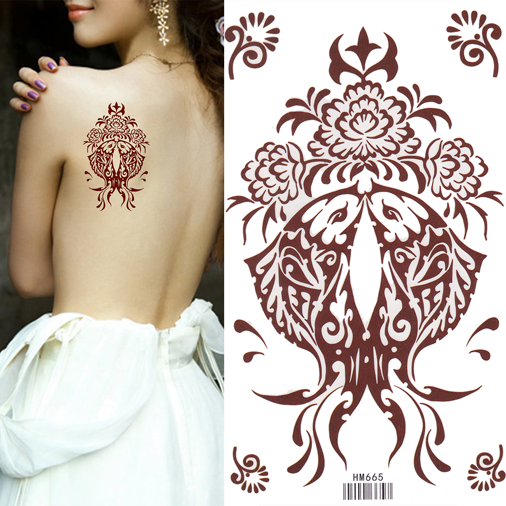 Temporary tattoo - beauty without harm to health 36