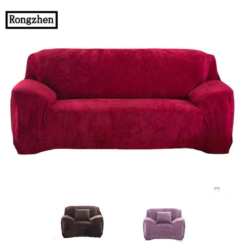 elastic sofa cover stretch Fabric Elastic <font><b>Cushions</b></font> universal Single Two Three Seat tight corner armchair Sofa Furniture Covers