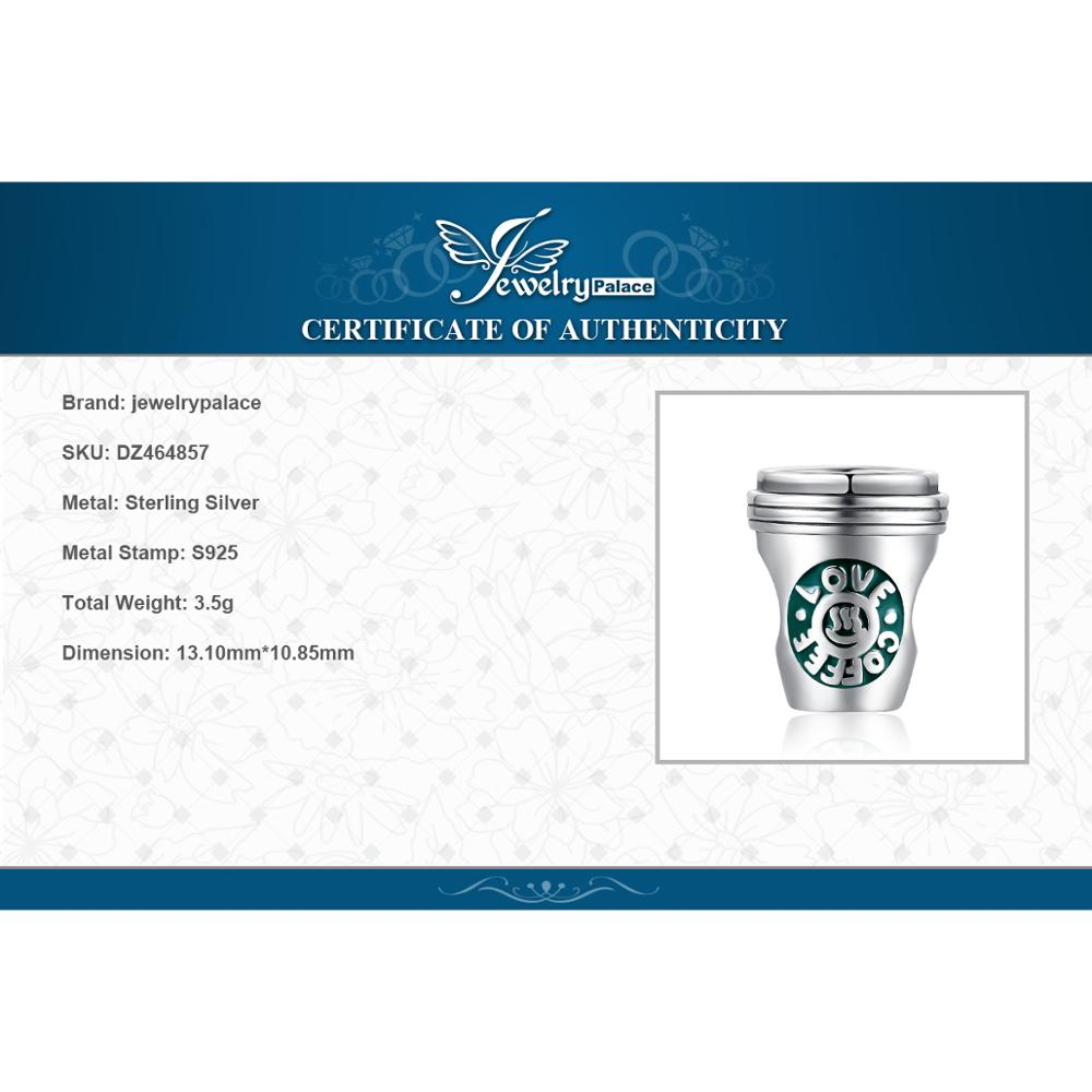 JewelryPalace Coffee Cup 925 Sterling Silver Beads Charms Silver 925 Original For Bracelet Silver 925 original JewelryPalace Coffee Cup 925 Sterling Silver Beads Charms Silver 925 Original For Bracelet Silver 925 original Jewelry Making