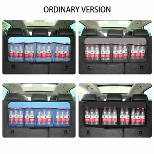Image 2 - Car Storage Bag Car Seat Back Bag Trunk Storage Bag Large Capacity Creative Car Accessories
