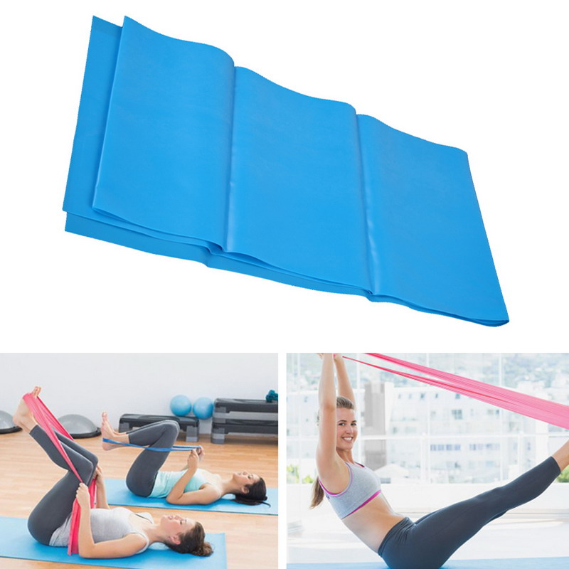 50cm/1.2m Fitness Pilate Yoga Stretch Band LOOP rope Muscle Training Band Crossfit Elastic Resistance Yoga Band for Bodybuilding