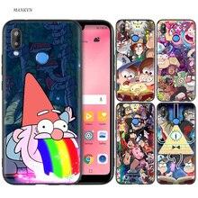 Silicone Case Cover for Huawei P20 P10 P9 P8 Lite Pro 2017 P Smart+ 2019 Nova 3i 3E Phone Cases Gravity Falls стоимость