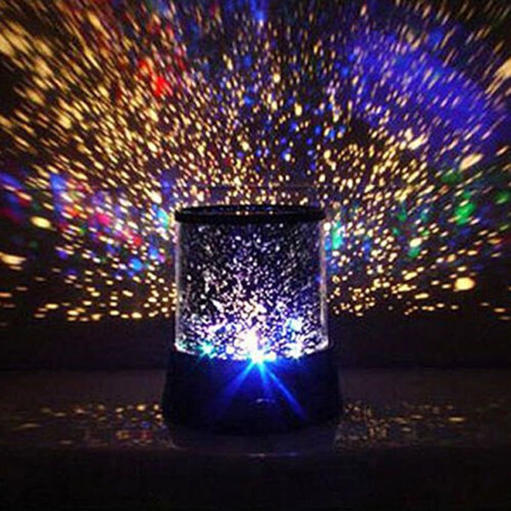 LED Projector Lamp Colorful Star Master Sky Starry Moon Night Light Cosmos Master For Children Gift Led Projection lamp фен bosch phd 3300 1600вт синий
