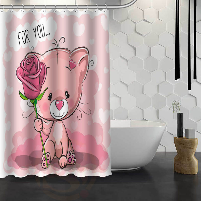 online buy wholesale bear shower curtains from china bear shower curtains wholesalers. Black Bedroom Furniture Sets. Home Design Ideas