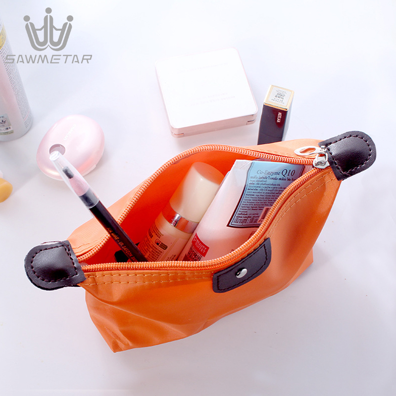 Купить с кэшбэком Cosmetic Bag Women Travel Makeup Bags Organizer Pouch Handbag Female Zipper Waterproof Make Up Bags Beauty Toiletry Bag