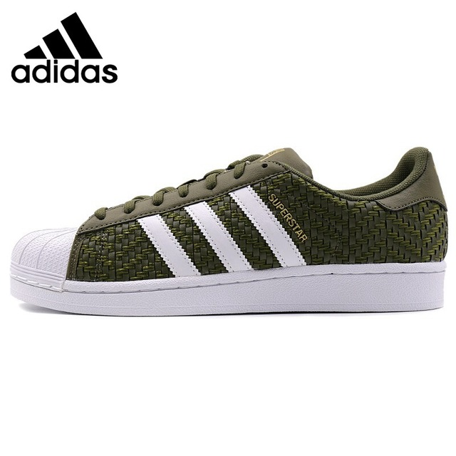 9c2fc8c546f Original Nova Chegada 2018 Sapatos de Skate dos homens Das Sapatilhas  Adidas Originals SUPERSTAR