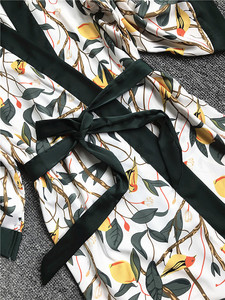Image 2 - Daeyard piżama zestaw koszula nocna szata zestaw kobiety Nighty jedwabny szlafrok dla pań koszula nocna bielizna nocna Femme seksowna bielizna szlafrok