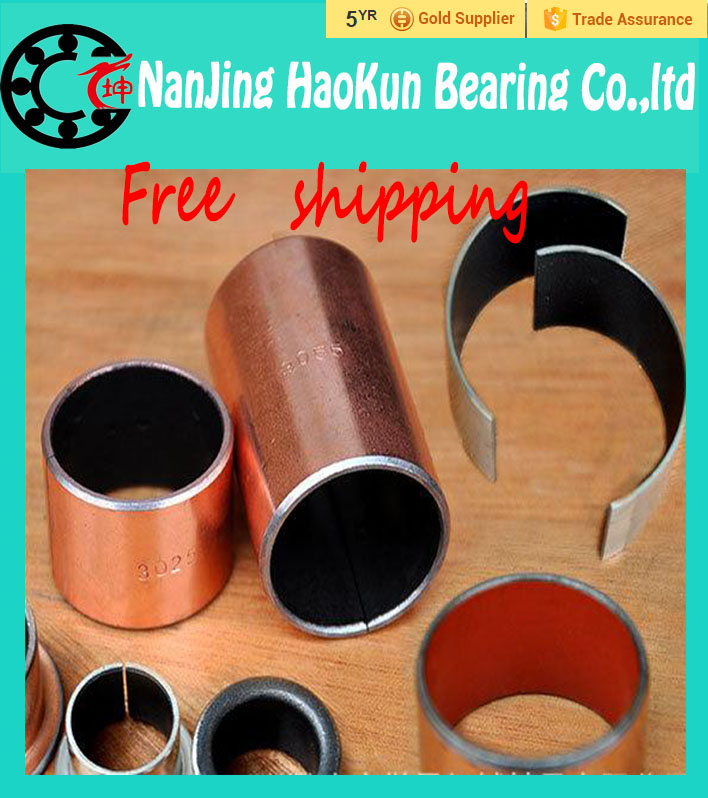 5Pcs SF1 SF-1 2220 22*25*20 5pcs2220 Self Lubricating Composite Bearing Bushing Sleeve 22 x 25 x 20mm Free shipping High Quality бинокль nikon edg 10x42