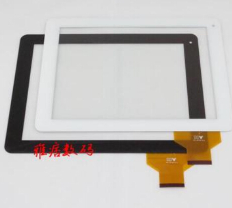 New for 9.7 3Q Qoo! Q-pad RC9724C TABLET Capacitive touch screen panel Digitizer Glass Sensor Free Shipping