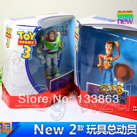 Toy Story 3 Woody Buzz High Quality Figures Set New 12CM
