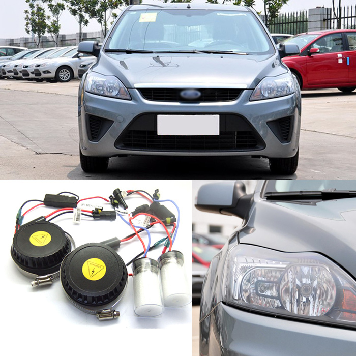 iPobooTech New Generation All In One Lower Beam Error Free H7 HID Lights For Ford Focus