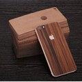Simples para iphone 6 voltar vara/filme após filme de madeira de madeira real para iphone 6 6 s 4.7 polegadas caso