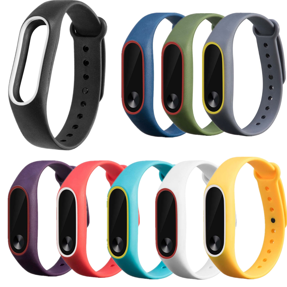 JAVRICK Smart Watch Silicon WristBand Strap Bracelet Replacement For Xiaomi MI Band 2 new fashion original silicon wrist strap wristband bracelet replacement for xiaomi mi band 2 dignity 8 9