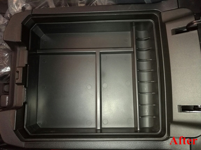 1 pz di Stoccaggio Centrale Box Bracciolo Box Contenitore Organizzatore Per Toyota Land Cruiser Prado FJ150 2010-2016