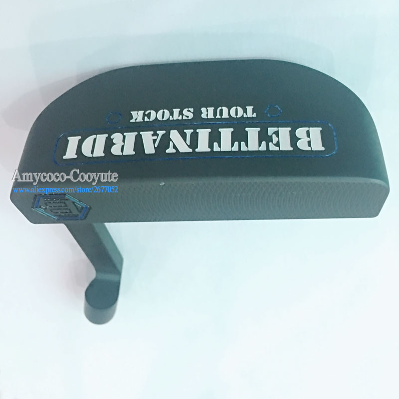 Cooyute New Golf Heads TouR Stock B Right Handed Golf Putter Black Color Clubs Golf Head  No Putter Shaft Free Shipping