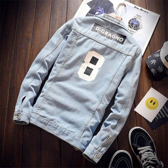 Hip Hop Denim Jacket 4