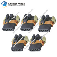 5 Sets 3 pin Automotive Connectors Plastic Harness Connector With Terminal DJ7039Y-2.8-21 3P