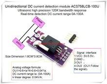 NEW 1PCS/LOT ACS758LCB-100U ACS758 ACS758-100 ACS758LCB 100U  120 kHz bandwidth DC: 0-100A 0.04V/1A