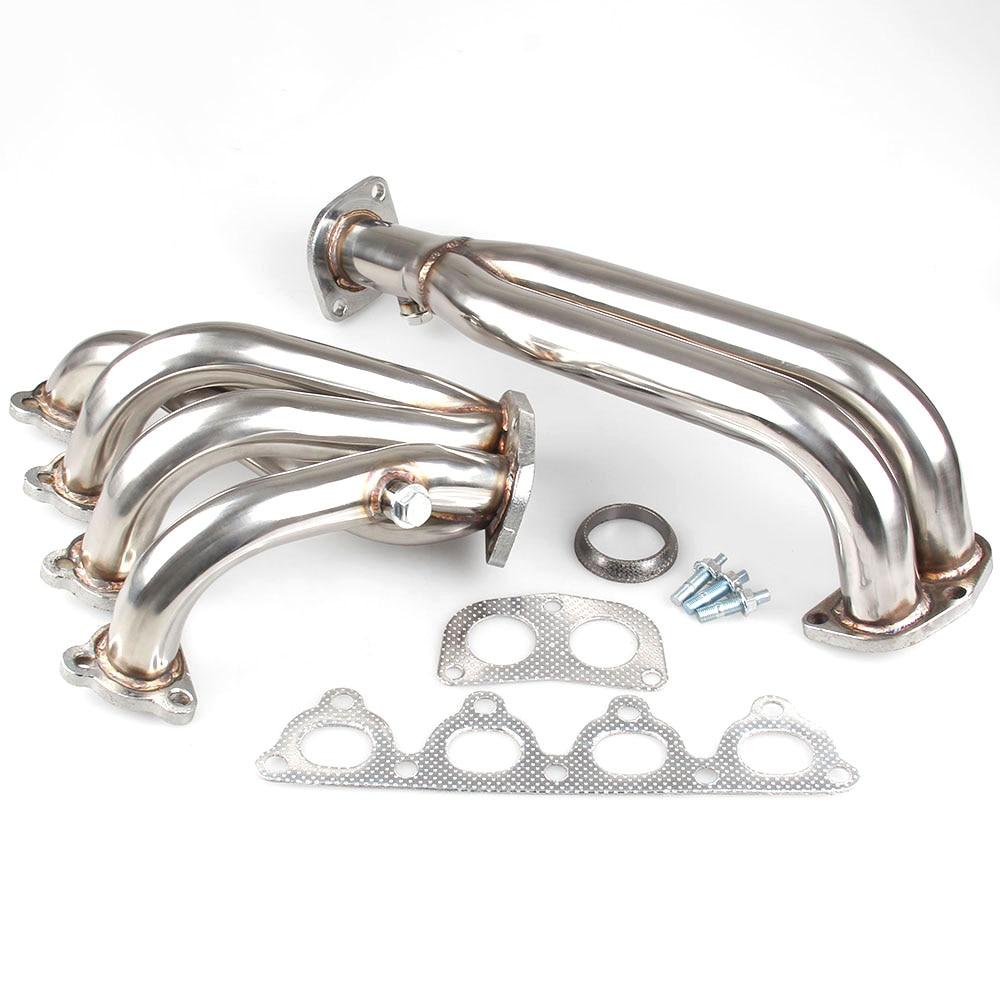 OBX Reacing Exhaust Header Manifold For 88-91 Honda Crx Si 93-97 Honda Del Sol
