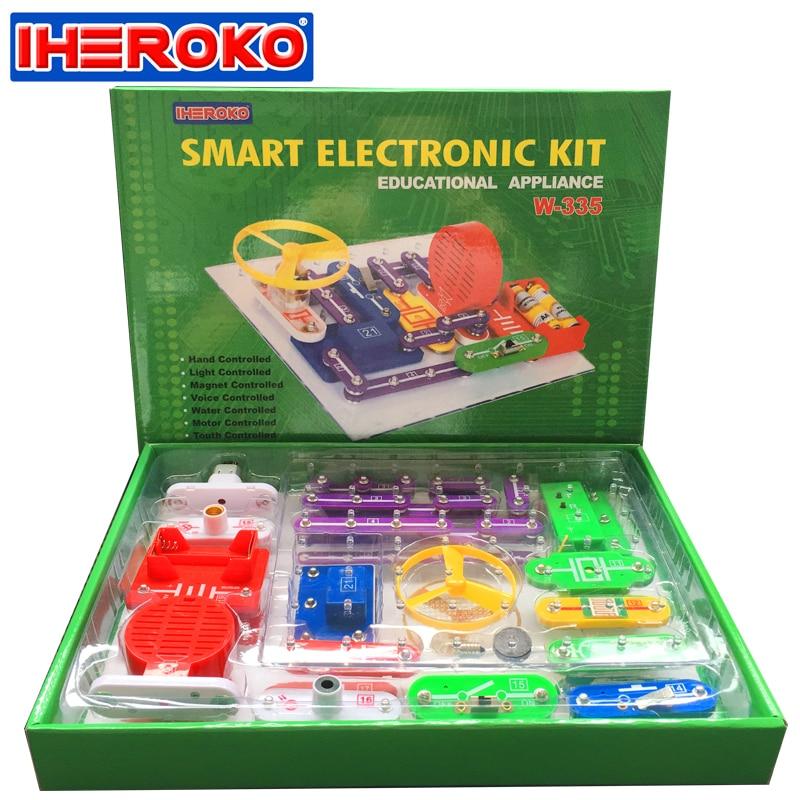 IHEROKO Smart Electronics Blocks Kit Kids Toys DIY ...