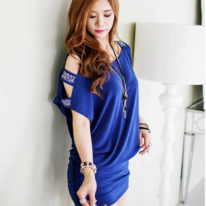 Модное летнее Сексуальное Женское Платье сексуальное с коротким рукавом облегающее платье Vestidos женское мини Вечерние