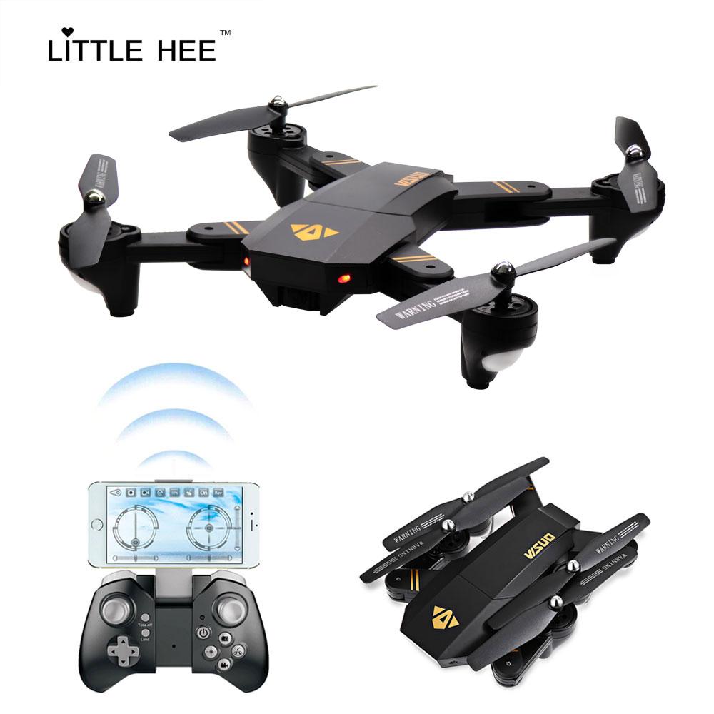LITTLEHEE WIFI font b Drone b font 2017 XS809w 720p Remote Control Foldable Quadcopter Mini font