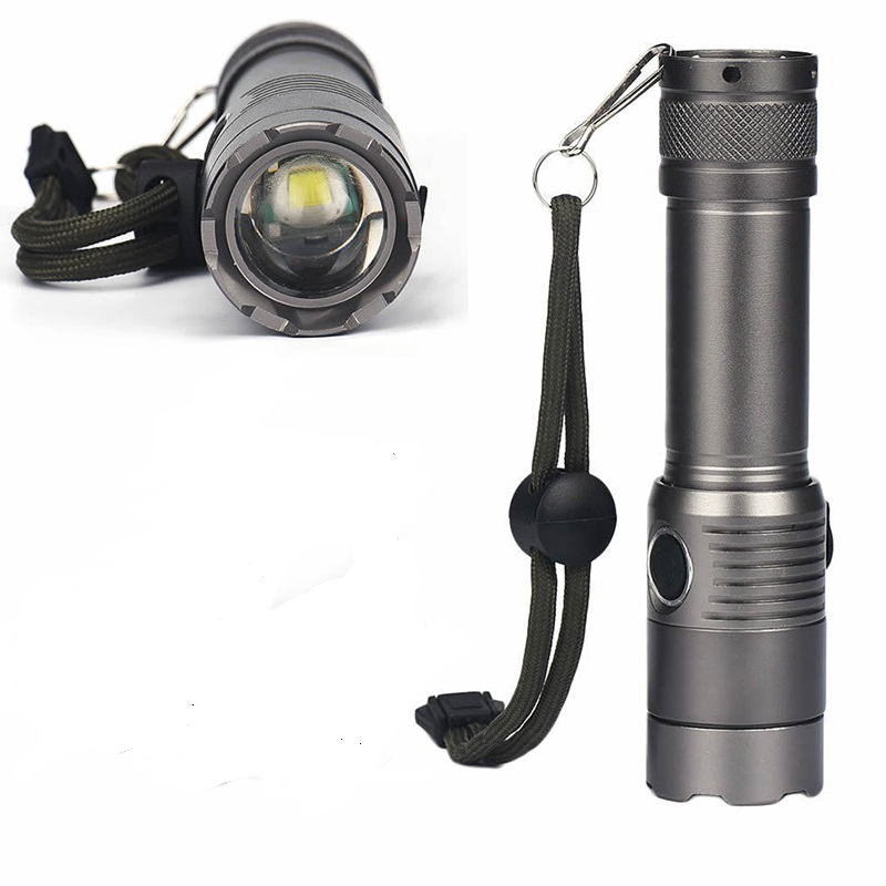 Portable Waterproof XML Super Bright T6 LED Flashlight Light Hand Lamp Zoom Flashlight Bike Bicycle Light Hiking Camp Tool
