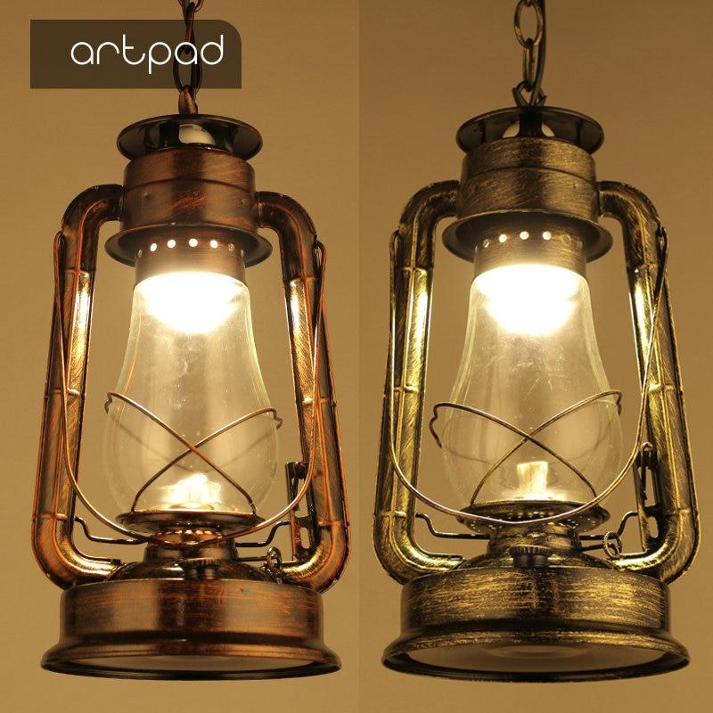 Outdoor Industrial Pendant Light: Artpad Outdoor Waterproof Industrial Style Pendant