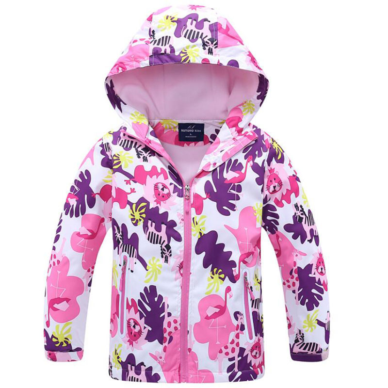 2019 Brand Flower Polar Fleece Girls Jacket For Child Clothing 3-12T Girls Outerwear Coat Spring Autumn Kids Windbreaker Jackets2019 Brand Flower Polar Fleece Girls Jacket For Child Clothing 3-12T Girls Outerwear Coat Spring Autumn Kids Windbreaker Jackets