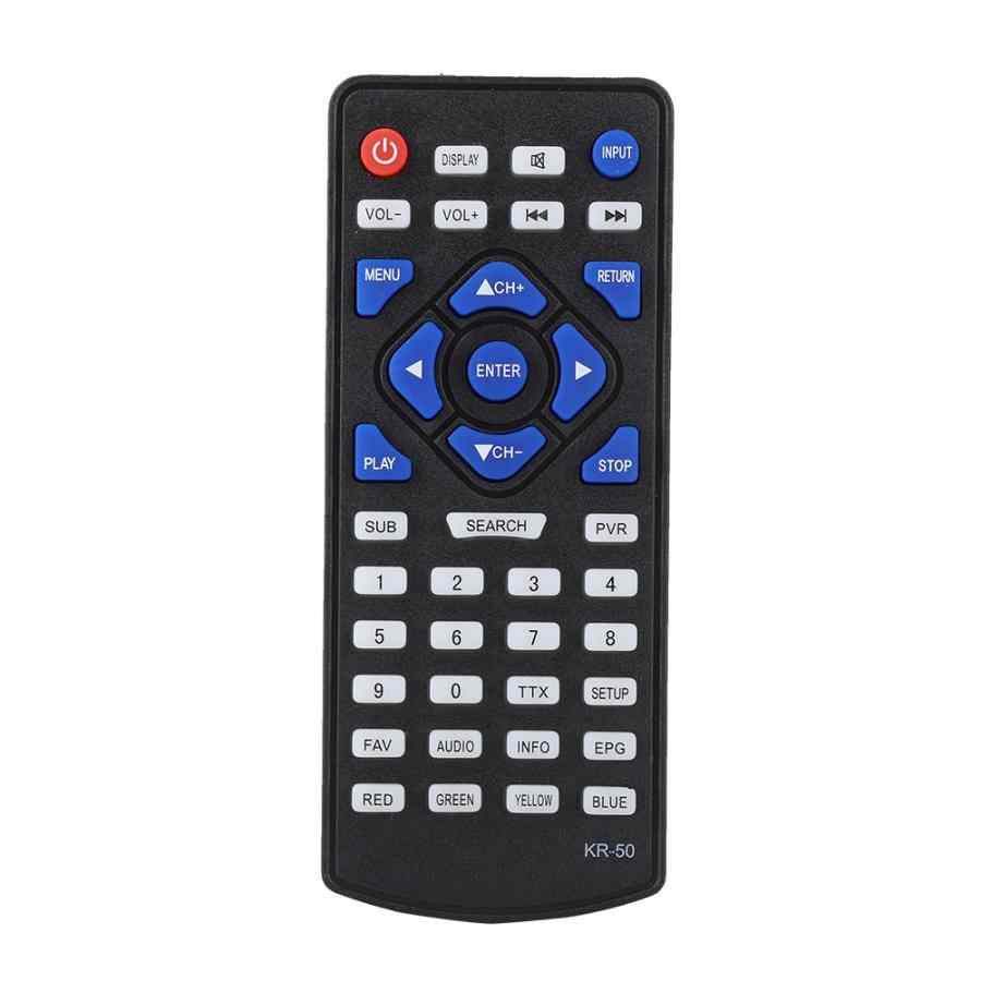Replacement Digital TV DVB-T2 Remote Control Television Controller For LEADSTAR KR-50 remote control