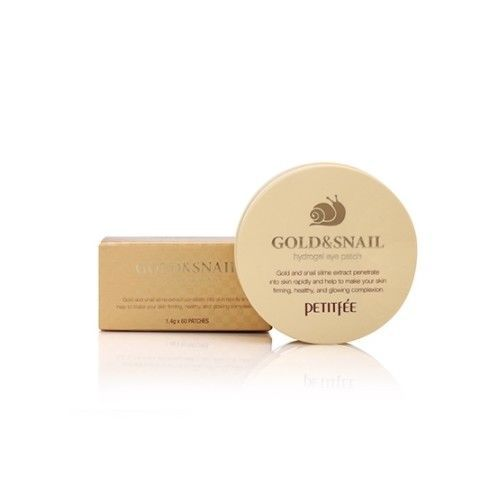PETITFEE Gold Snail Eye Patch + Black Pearl Gold Eye Mask+ Gold EGF Spot Patch Korea Cosmetics 4