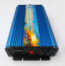 цена на 5000W Peak Power Off Grid Pure Sine Wave 2500W DC 12V/24V to AC 120V/220V/240V DC to AC Inverter
