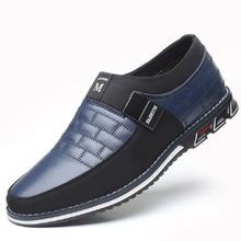 Новинка года; сезон осень-весна; мужская кожаная повседневная обувь; мужская деловая Летняя обувь; F53-1