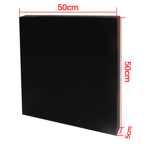 Image 2 - Archery Black EVA Foam Target Self Healing 2 Sided 20x20x2.4 inch Compound Recurve Bow Hunting Arrows Target Paper for Shooting